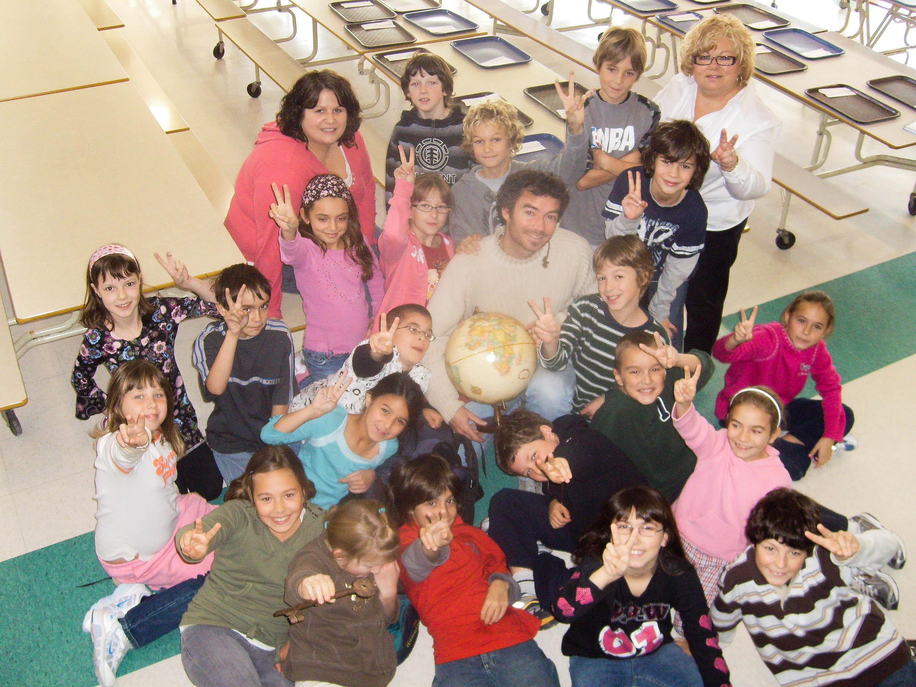Rencontre dans une classe au Québec