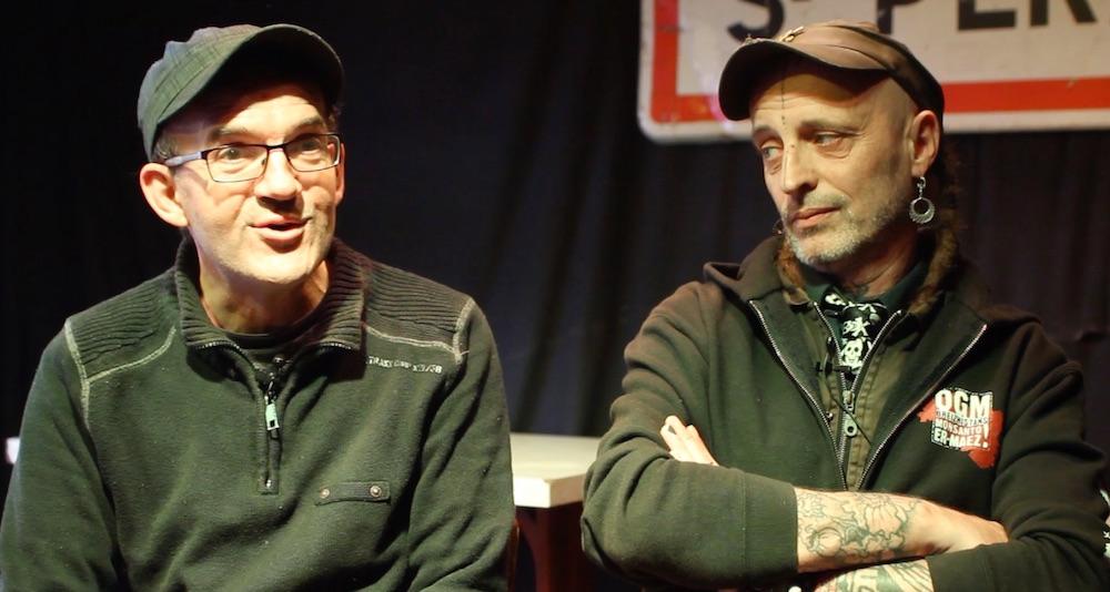 Patrick Gouevy et Loran Beru