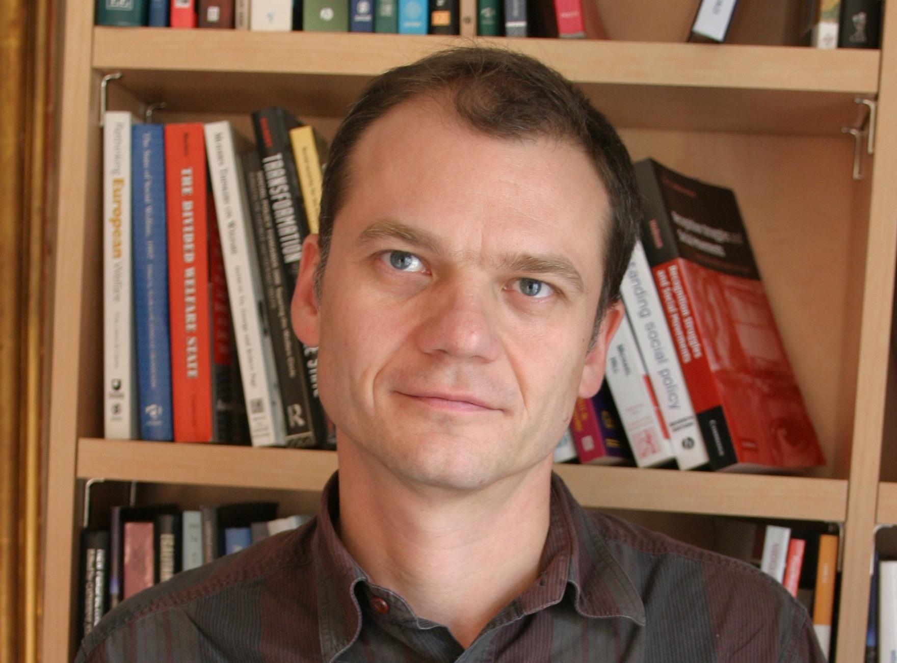 Bruno Palier, co-directeur du Laboratoire interdisciplinaire d'évaluation des politiques publiques et directeur de recherche du CNRS à Sciences Po (photo : Serge Canasse).