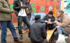 Être humain à la jungle de Calais