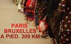 Marche Paris-Bruxelles contre les viols au Congo