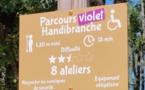 Sur Handirect, le premier parcours handibranche en France