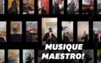 Serbie, Italie, Paris : l'émouvant soutien des musiciens