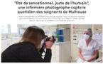 Une infirmière photographe capte le quotidien des soignants de Mulhouse