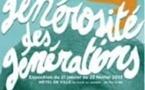 Expo : « La générosité des générations »