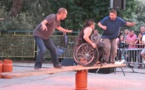 Être en fauteuil, c'est tout un cirque pour Rémi Lecocq
