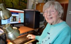 Dagny a commencé l'informatique à 99 ans