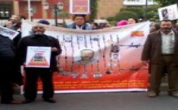 Solidarité avec des syndicalistes du rail marocains