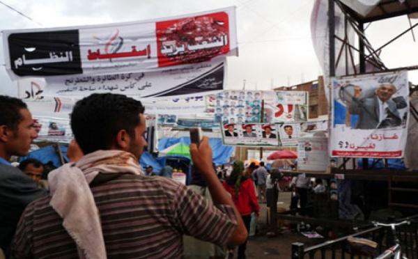 """Au Yemen, la révolution du """"portable arabe"""""""