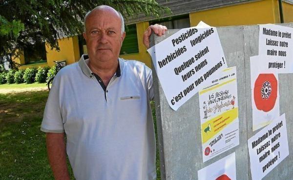 Pesticides : vaste mouvement de soutien au maire de Langouët
