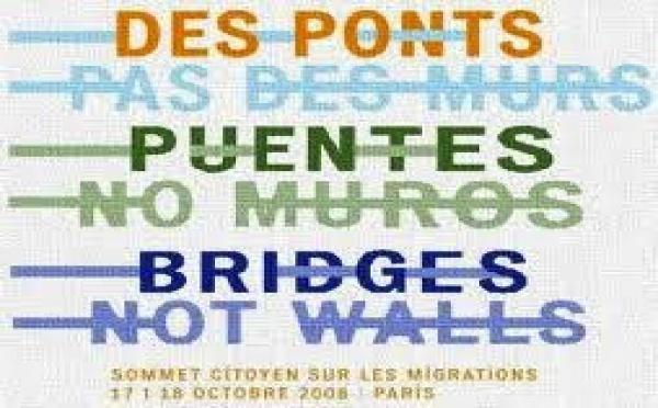 « Des ponts pas des murs » : appel aux candidats