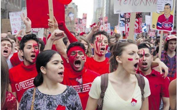 Le long combat des jeunes Québécois