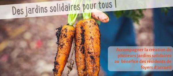 Financement participatif : Des jardins solidaires pour les plus démunis