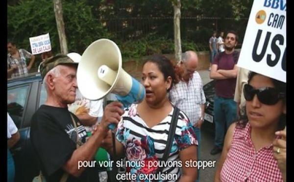 Espagne : les voisins s'allient contre les expulsions