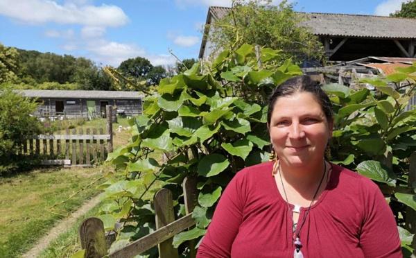 Anne-Laure a rêvé l'Eco domaine du Bois du Barde à Mellionnec