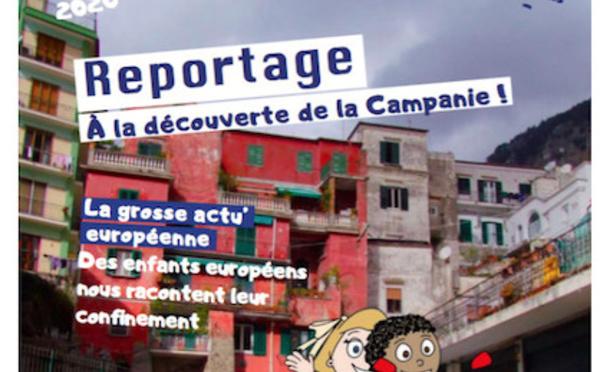 Depuis un an, le magazine Mia Europo fait découvrir l'Europe aux enfants