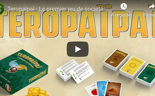 Pour pratiquer la permaculture, jouez avec Teropaïpaï