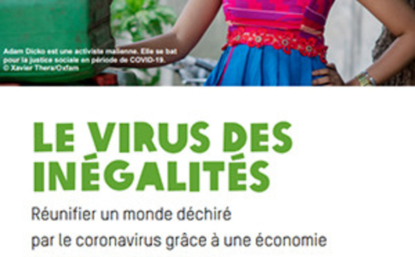 Oxfam France : une hausse record des inégalités depuis un siècle