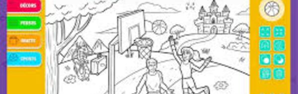 Jouer et colorier ensemble, malgré le handicap