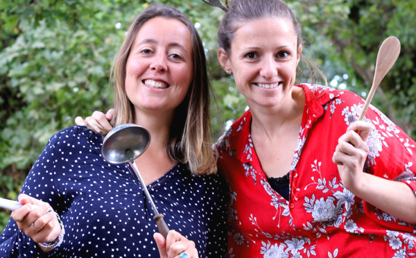 Au menu de Clémentine et Elodie: la solidarité aux réfugiés par la cuisine