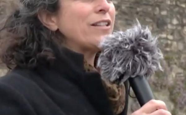 Fort soutien à la journaliste bretonne Morgan Large