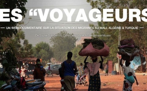 """Les """"Voyageurs"""" : un nouveau webdocumentaire sur les migrants"""