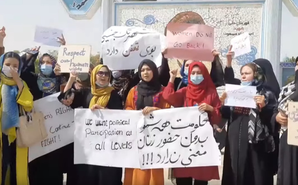 Face aux talibans, le combat héroïque des Afghanes