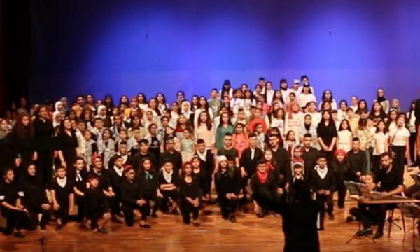 """A découvrir sur Vimeo : """"Opéra Amal"""" du choeur d'enfants de Palestine Amwaj"""
