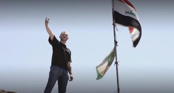 Rap, graffs, théâtre... La résistance par l'art des jeunes Irakiens
