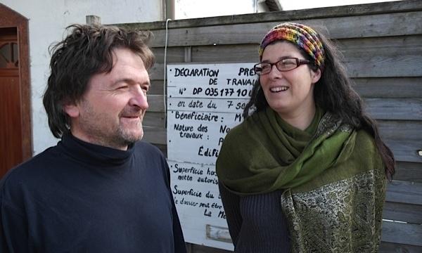 Marion et Gwenael, une vie entre art et décroissance