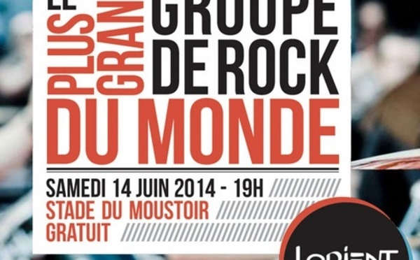 A Lorient, le plus grand groupe Rock du monde