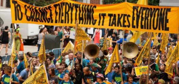 Climat : le réseau mondial 350.org monte en puissance