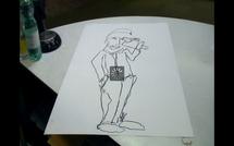 Younnig et Cartier dessinent