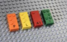 Des briques Lego en braille