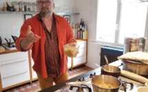 Xavier Hamon, cuisinier par passion (photo Tugdual Ruellan).