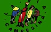 L'appel des petits paysans de la Via Campesina