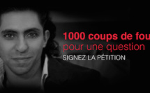 Pétition de soutien au journaliste saoudien Raef Badawi