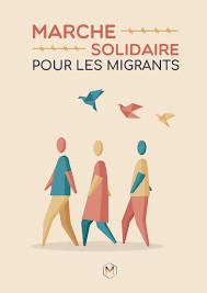 La marche solidaire pour les migrants, c'est parti !