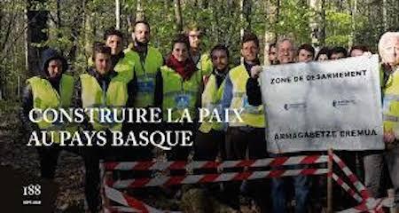 Le dossier d'Alternatives non-violentes : Construire la paix au Pays Basque