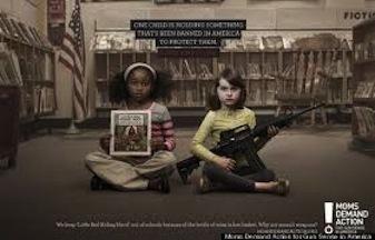 Image illustrant une campagne contre les armes