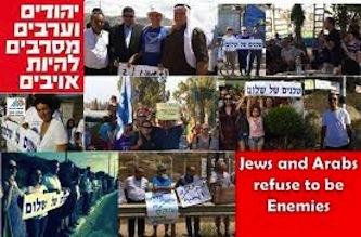 Juifs et arabes refusent d'être ennemis