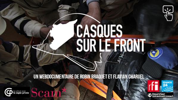 « Casques sur le front » (webdoc) : héroïques civils syriens