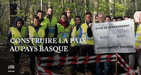 Le dossier d'Alternatives non-violentes : Construire la paix au Pays Basque