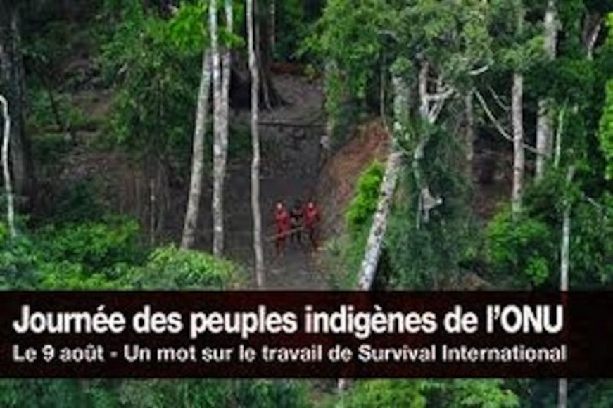 Un diaporama pour les peuples indigènes
