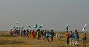 Les sans-terre indiens ont gagné