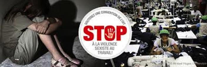 Stop aux violences contre les femmes au travail : pétition