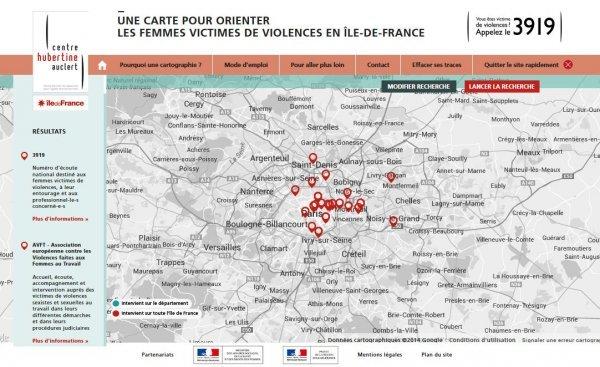 """Le kit """" orientation femmes victimes de violence """" du Centre Hubertine Auclert"""