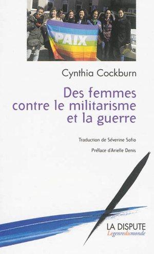 Des femmes contre le militarisme et la guerre de C. Cockburn