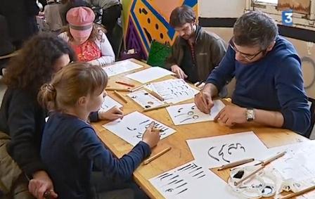 Le 12 mars 2017, Shadi Morshed  a animé un atelier à l'Hôtel Pasteur, dans le cadre d'une vente d'œuvres d'art !Voir le reportage vidéo ci-dessous)