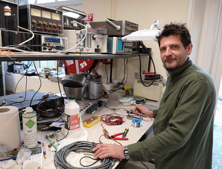 Avec Marc Depasse, un pied de nez à l'obsolescence programmée !